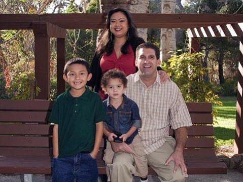 <strong>HELPING HANDS: </strong> Susie and Kirk persevered through housing and employment highs and lows, with the help of Transition House, into permanent housing for themselves and their children Braydyn (left) and Joey.