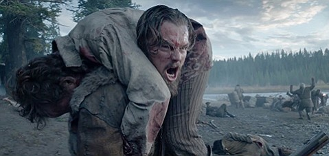 <b>MAN VS. WILD:</b>  Director Alejandro González Iñárritu's <i>The Revenant</i> stars Leonardo DiCaprio as a frontiersman fighting for his life after being left for dead following a bear mauling.