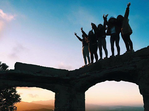 <strong>WANDERLUST: </strong> California Explorer takes travelers to Golden State attractions near and far, including Knapp's Castle.