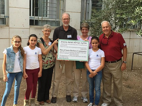The Morrows and the Fischers, of Santa Barbara's Christ the King Episcopal Church spent a week volunteering in Beit Shemesh, Israel at the Jewish Levi Eshkol School.