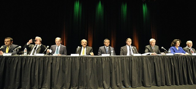 Nine candidates debate at Cal Poly for the 24th Congressional District seat
