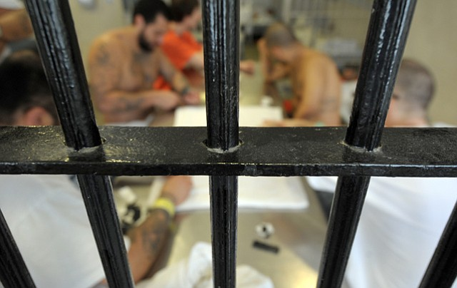 <strong>OUT OF SIGHT:</strong>  County Jail inmates with psychiatric disorders are frequently neglected, a new report claims.