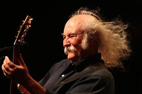 <b>OH, YES, HE CAN:</b>  These days, David Crosby finds himself more happily productive than he has been in years, including collaborations with his son and with N.Y.-based Snarky Puppy.