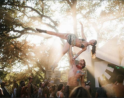 <b>LUCID DREAMS:</b>  This year's festival arrives at a thematic Crossroads, where solutions to present-day woes are addressed through creativity, spirituality, and sustainability.