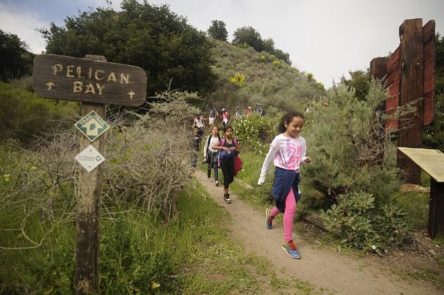 Ninety Santa Paula fourth graders, many of whom had never been on a boat, visited Santa Cruz Island Friday with Secretary of the Interior Sally Jewell and Congressmember Lois Capps.