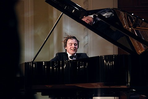 """<b>FINGERS ON FIRE:</b>  After 25-year-old Russian pianist Daniil Trifonov played Walt Disney Concert Hall, <i>Los Angeles Times</i> music critic Mark Swed raved that he gave """"an evening of unforgettable playing."""" Santa Barbarans can hear what the fuss is about this Thursday at the Granada."""