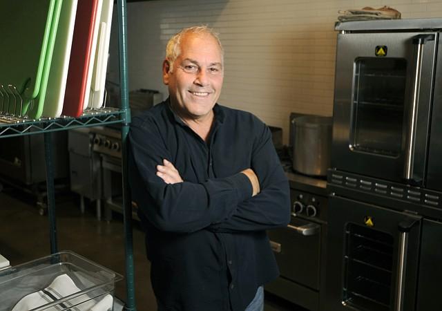 Anthony Carroccio in The Kitchen at Santa Barbara Public Market. (March 24, 2016)