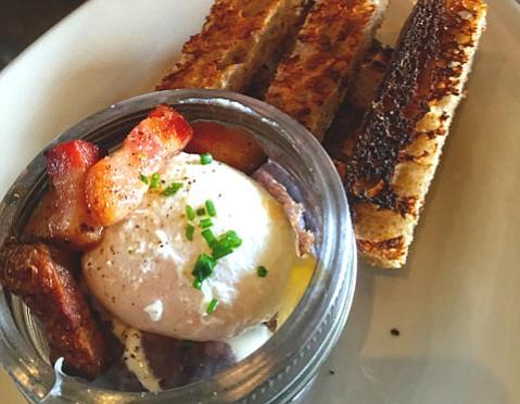 Egg-in-a-Jar @ Bob's Well Bread