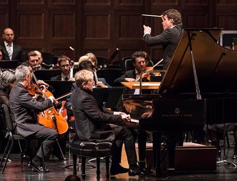 Los Angeles Philharmonic, Jakub Hrůša, conductor, Jean-Yves Thibaudet, piano 5/1/16 Granada Theatre