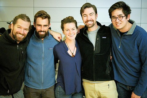 Onboard the <em>Steve Irwin</em>, a team of five filmmakers — 4 from UCSB's film department — braved the open ocean from January to March to film a docu-series.