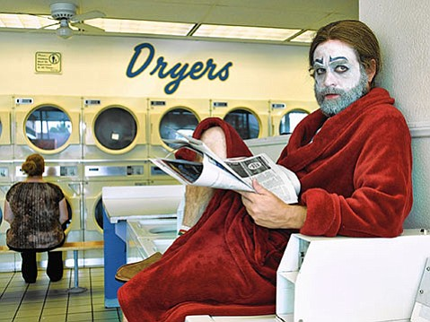 <strong>BASKET CASE:</strong>  Zach Galifianakis plays failed rodeo clown Chip Baskets and his twin brother, Dale, in his witty and weird FX series <em>Baskets</em>.