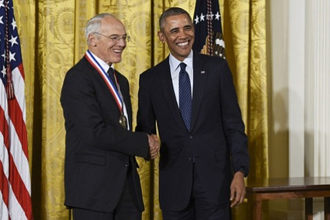 Arthur Gossard, physicist and UCSB professor emeritus, earned the National Medal of Technology and Innovation.