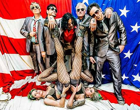 <strong>THIS PARTY'S POLITICAL:</strong> Sociopolitical critiques fuel the fire of The DTEASE's rock showmanship, with every show a party of punk politics and musical liberation.
