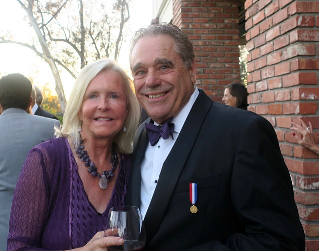 Founder and board member Rinaldo Brutoco and his wife Lalla Brutoco.