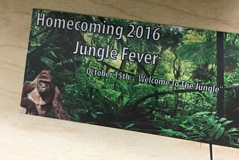 """Santa Barbara High School has changed the theme of its homecoming dance to a more innocuous """"Jungle: Welcome to the Wild"""" after facing a backlash over the original."""