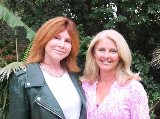 Executive director Donna Barranco Fisher and board president Tiffany Foster.