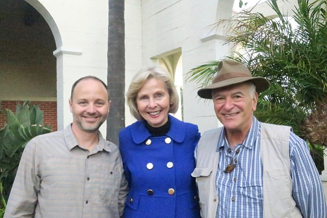 Honoree Congresswoman Lois Capps with executive director Jeff Kuyper (left) and board president Allan Morton.