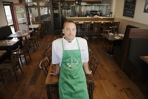 Julienne's chef and owner Justin West.
