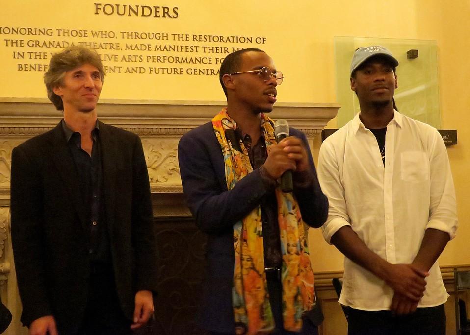 Director Damian Woetzel, Lil Buck, and Ron Myles.