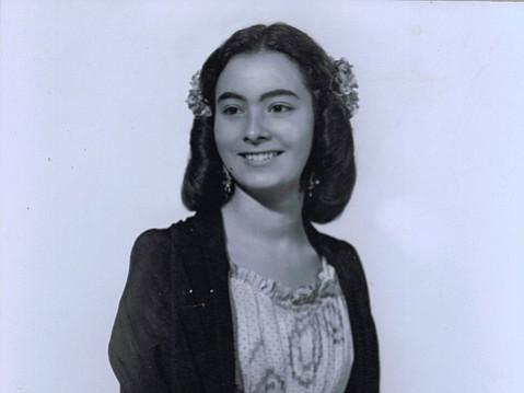 "Marcela  ""Mimi""  Pierpont, the author's grandmother."