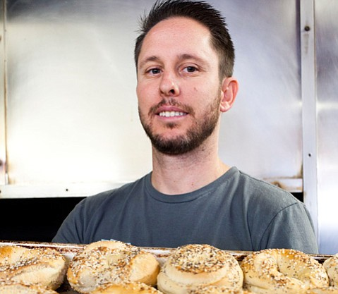 Bagel Café manager Jacob Root