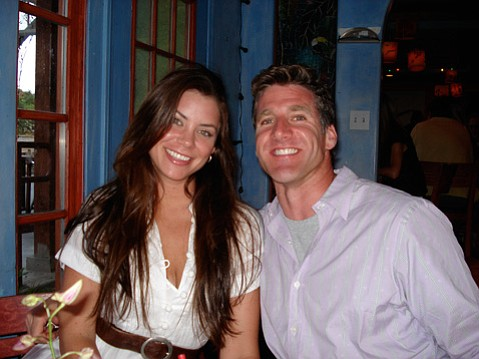 Brittany Maynard (left) and Dan Diaz