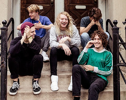 <strong>TERRIBLY GOOD:</strong> With a new Orwells album, Terrible Human Beings, slated for release next February, there's at least something to look forward to in 2017's opening winter weeks.