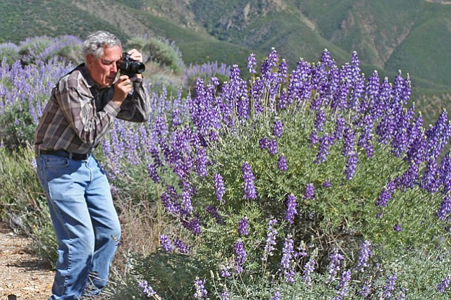 <b>BEHOLD:</b> Bob Haller shared his love of plants and the natural world with all.