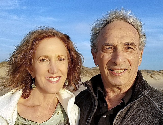 Julie and Jerry Brown