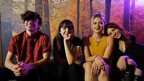 """<strong>NOTHING TO HIDE:</strong> """"We want people to stop hiding their feelings and pretending they don't feel a certain way,"""" singer Lydia Night said of the band's new album"""
