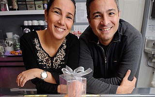Co-owners Hassia and Karim Kateb