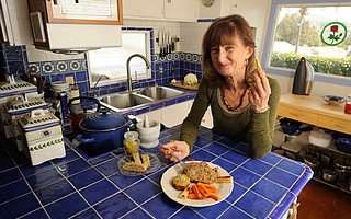<b>TEACHING CHEF:</b> Gerri French offers tips on keeping food tasty yet healthy.