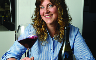 Alison Thomson of Lepiane Winery.