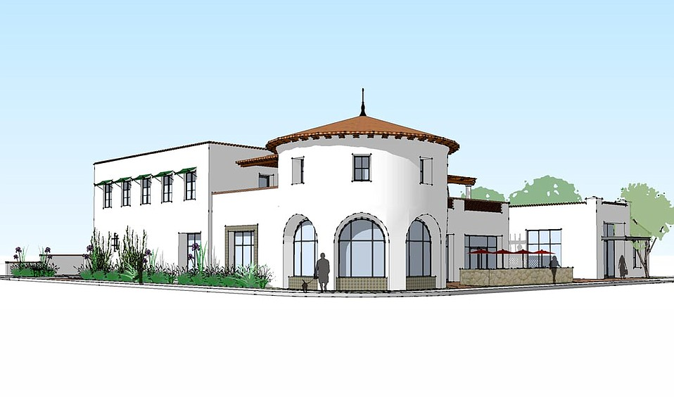 An artist rendering of the proposed development
