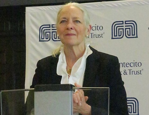 MB&T President and CEO Janet Garufis.