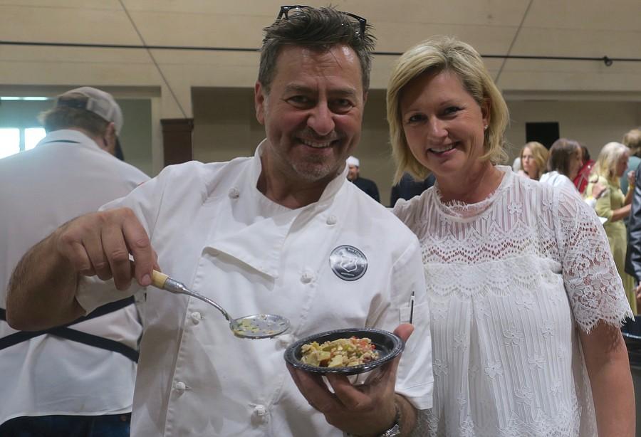 Tre Lune chef Soemi Caramel and manager Leslee Garafalo.