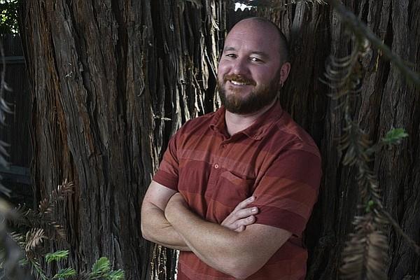 Matt Kettmann at his home
