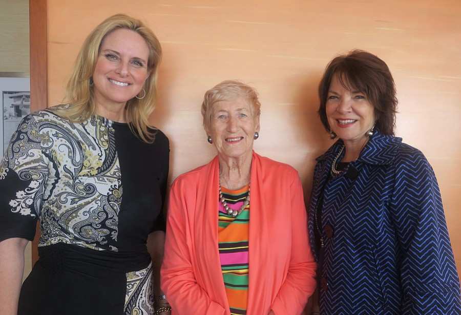Advisory Board Members and Event Hosts Kristan O'Donnell, Maribel Jarchow (President), and Miny Willmon.