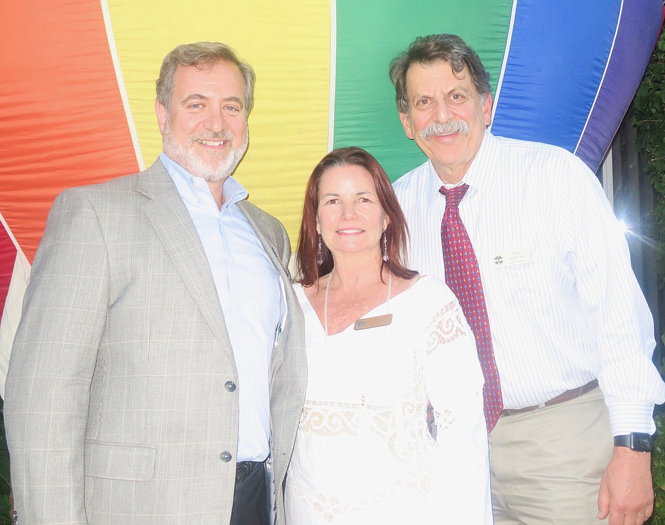 Board President Paul Jaconette (COO, CenCal Health), Executive Director Maria Long, and Boardmember Dr. Fred Kass (Director, Medical Oncology, Cancer Center of SB).