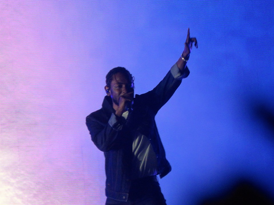 Kendrick Lamar was genuinely touched by the number of people — upwards of 50,000 — who came out to see him headline the second night of the festival.