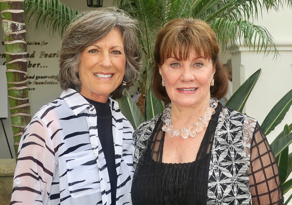 Braille Institute Auxiliary President Sandy DeRousse and First Vice President and Event Chair Sydney Tredick.