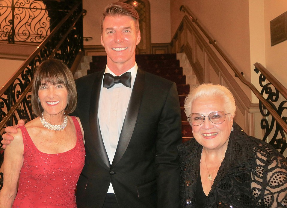 Legends Gala Honorees: Anne Towbes, Music Academy of the West President and CEO Scott Reed, and Marilyn Horne.