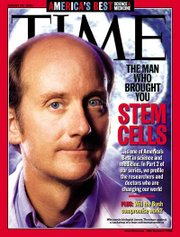 Jamie Thomson on the cover of Time magazine.