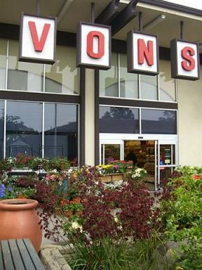 Vons in Montecito