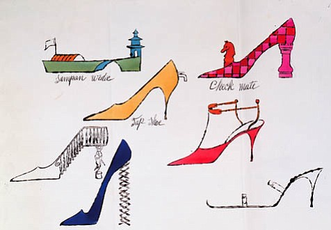 """Fantasy Shoes."" 1956."