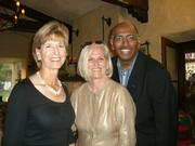 Former EPA head Christine Todd Whitman, Mary Belle Snow, former Maryland Lt. Gov, Michael Steele