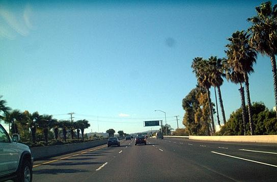 View of the 101 Freeway