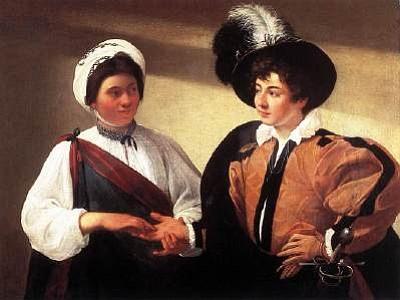 """Caravaggio's """"The Gypsy Fortune Teller"""""""