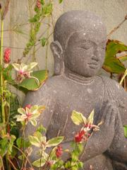 Buddha statue at Sacred Space