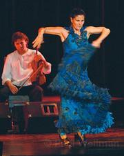 Mar-a Berm°dez delivered a series of powerful performances in <em>FlamenColores</em>.
